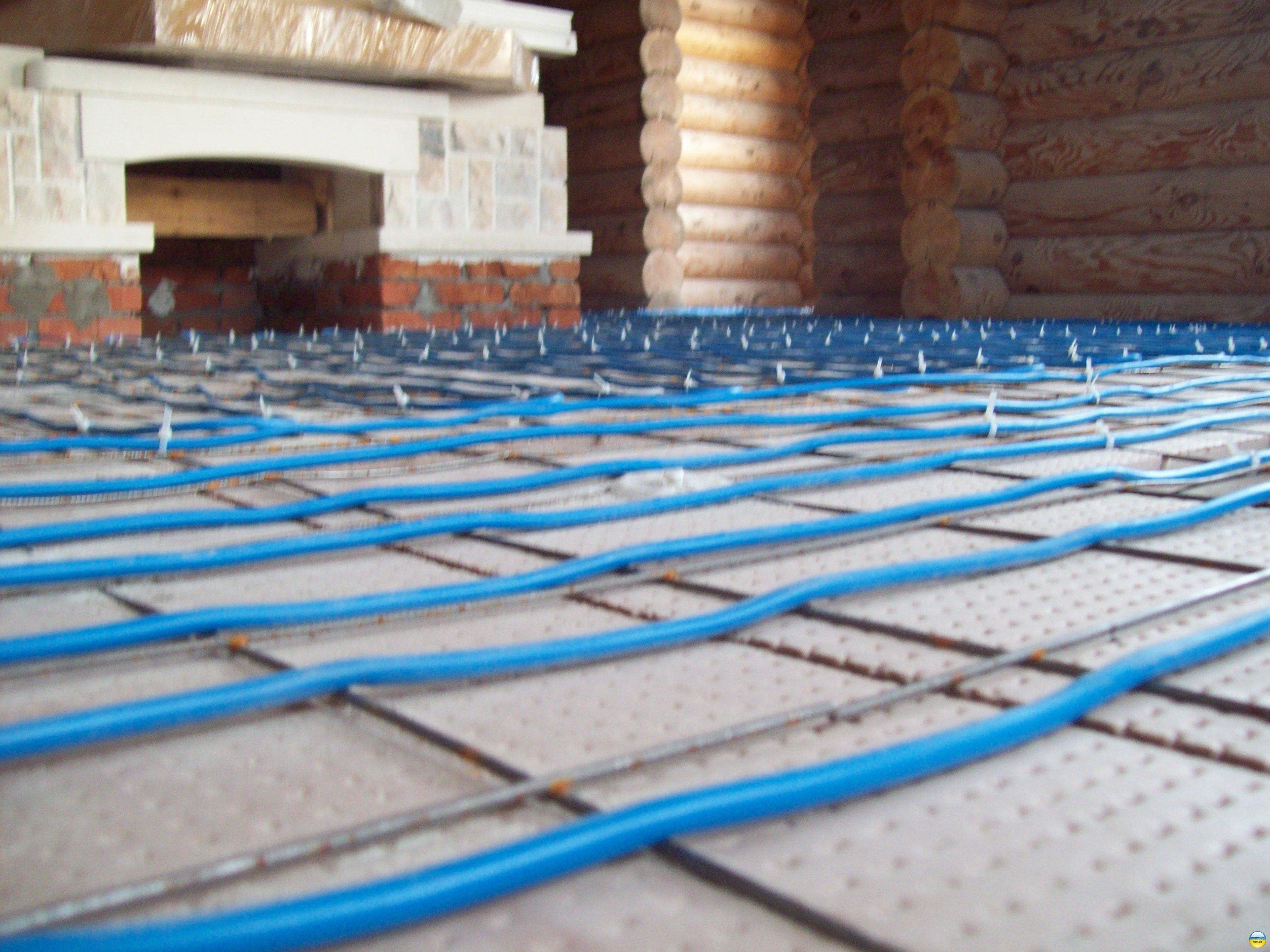 Влаштування теплої підлоги