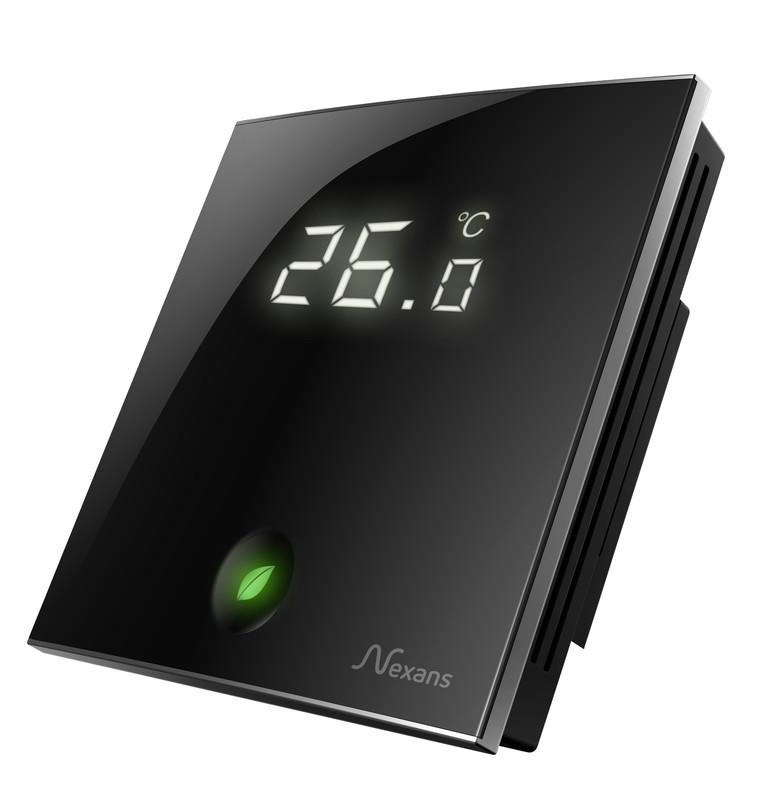 Терморегулятор для управління елекричною теплою підлогою