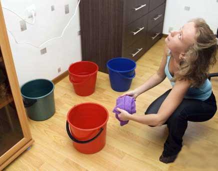 Протічка водяної теплої підлоги