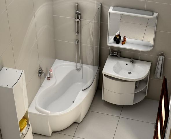 Як і який змішувач вибрати в ванну кімнату