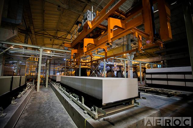 Виробництво газоблоків Aeroc