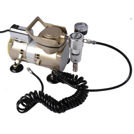 Мембранный компрессор для аэрографии