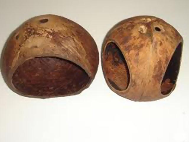 Отполированный кокос