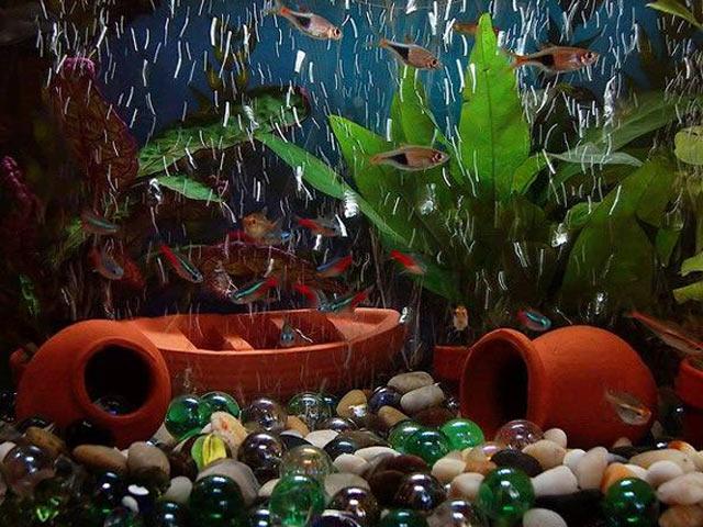 Амфора для аквариума