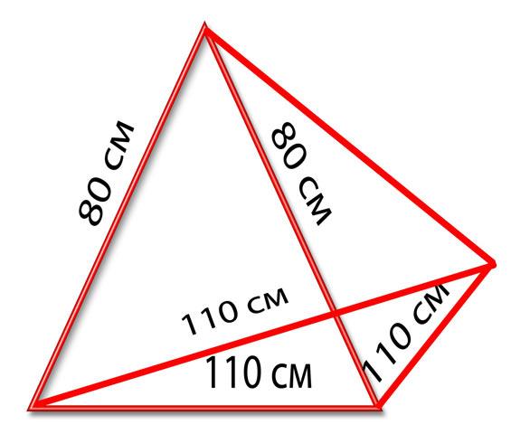 Схема подушки-пирамиды