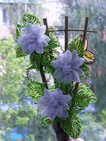 Бісерні квіти