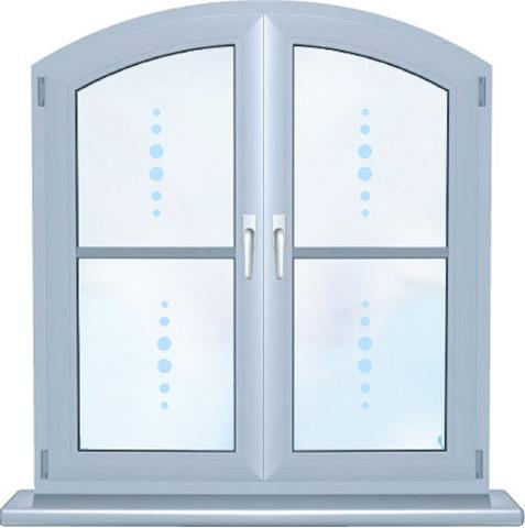 Вітражна плівка для вікна