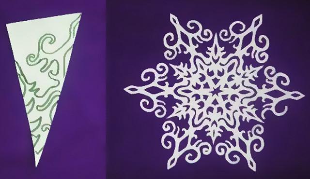 Схема для чудових сніжинок