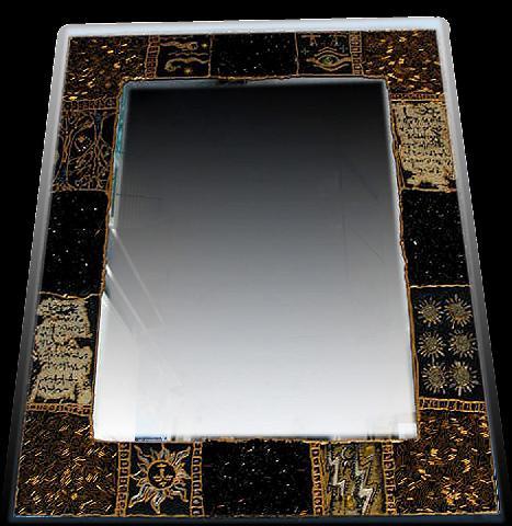 Зеркало-прототип для ванной комнаты, зеркала