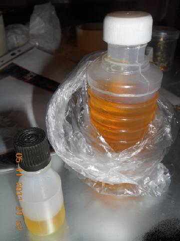 Пропорция епоксидной сломы и растворителя 10 к 1