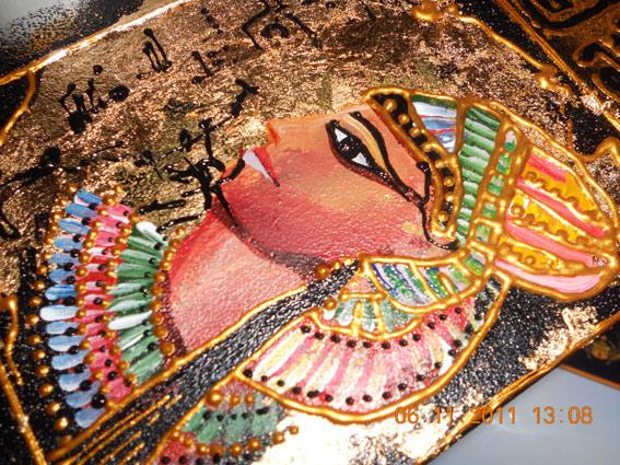 Рисование фараона, продолжение