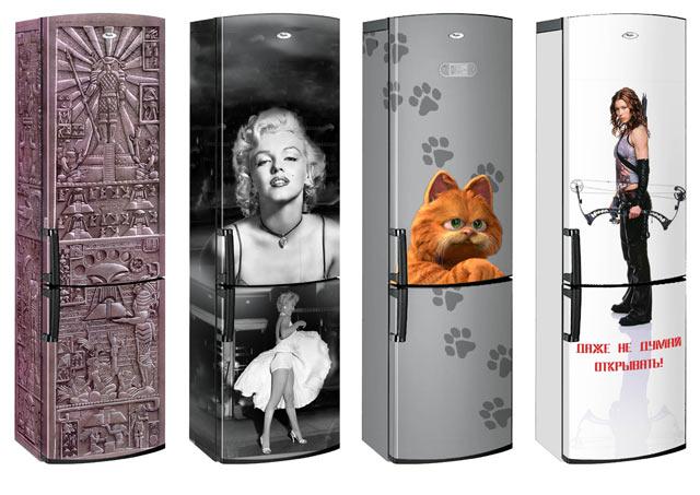 Декор холодильника 5