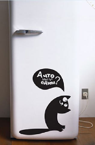 Декор холодильника 10