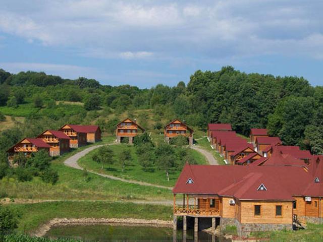 Туристический комплекс в горах