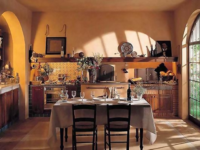 Шале-кухня