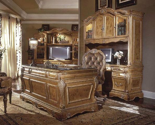 Викторианский стиль, составляющий основу английского стиля в кабинета