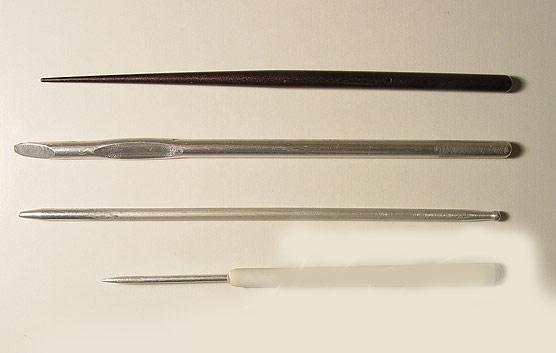 Инструменты для лепки холодным фарфором