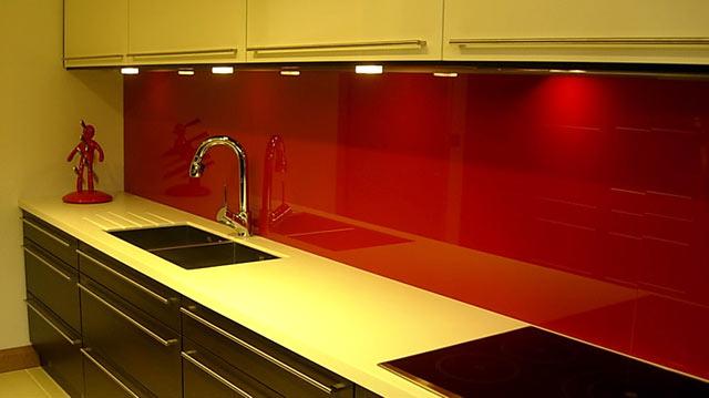 Скляний фартух для кухні