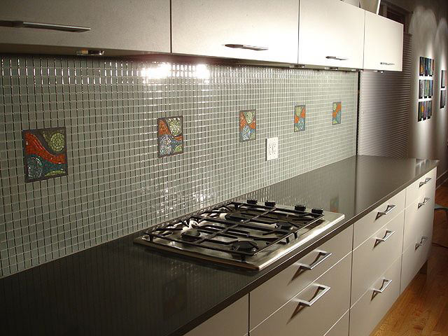 Мозаїка для кухонного фартуха