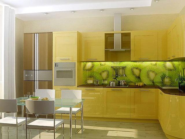 Фотопанель в кухні — кухонний фартух