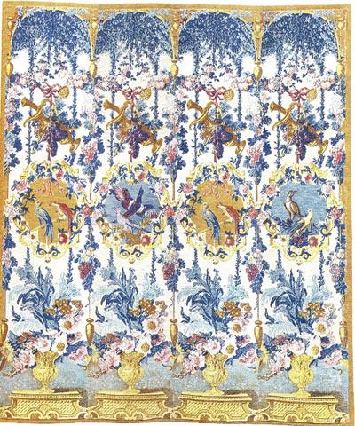 Такую красоту ткали в Италии