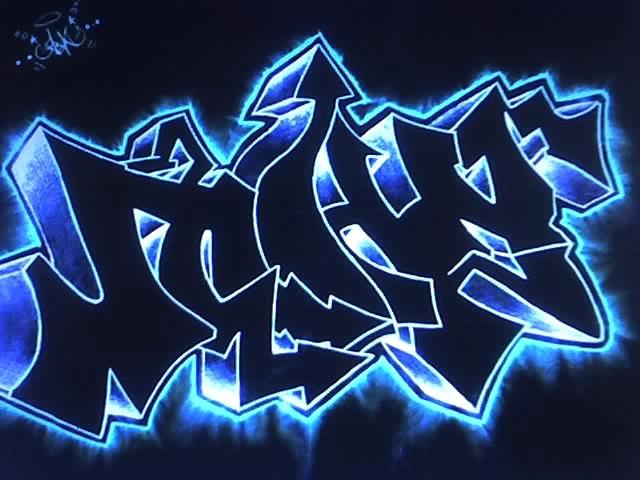 Пример граффити