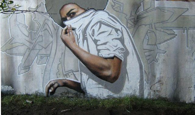 Уличное граффити — как высокое искусство