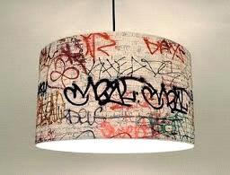 Граффити на плафоне