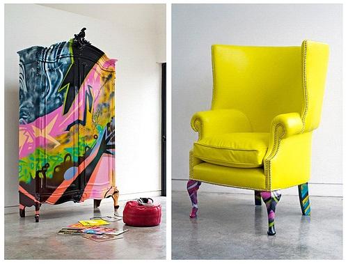 Декор мебели и ее фрагментов