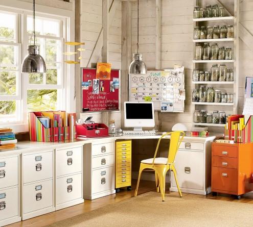 Дизайн кабинета в доме трансформировался достаточно серьезно