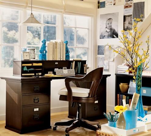 Практичность, доступность, комфорт и эстетичность — черты современного дизайна кабинета