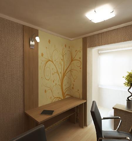 Декоративные росписи освободят кабинет от монотонности, сделают работу приятной