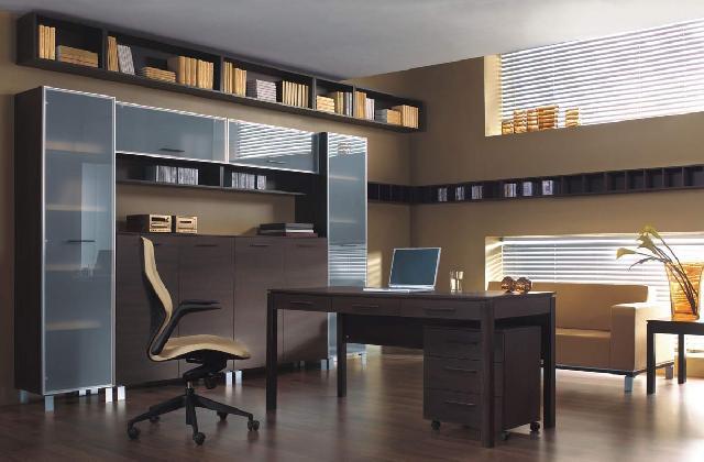 Отдельная комната под кабинет – лучший способ сделать работу в нем эффективной