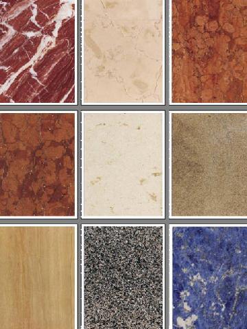 Многообразие оттенков мрамора