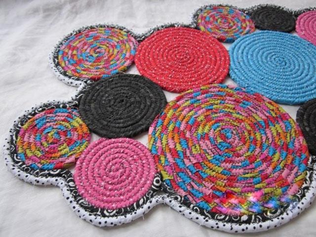 Креативный подход к самодельным коврикам