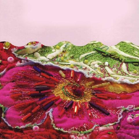 Картина из ткани крейзи