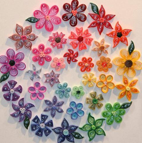 Фото 2. Простые цветы