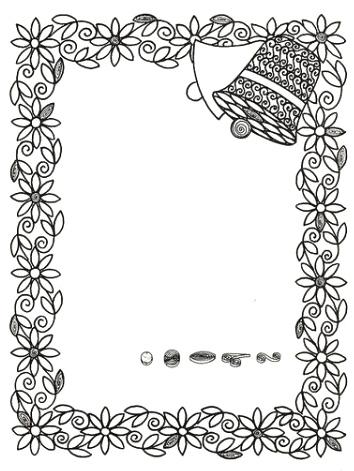 Фото 6. Схема для квілінгу