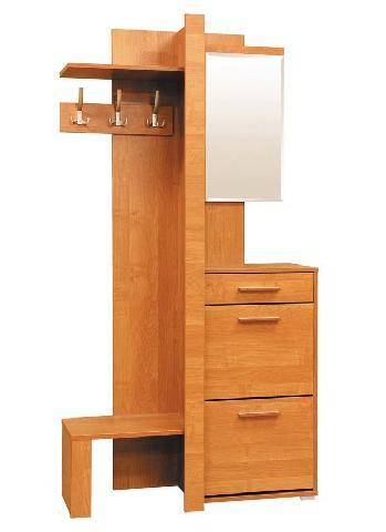 Пример компактной мебели для прихожей отечественного производителя