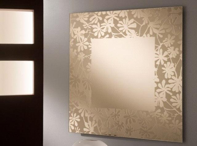 Матированные узоры на стекле