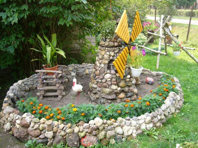 Сказочный уголок сада своими руками