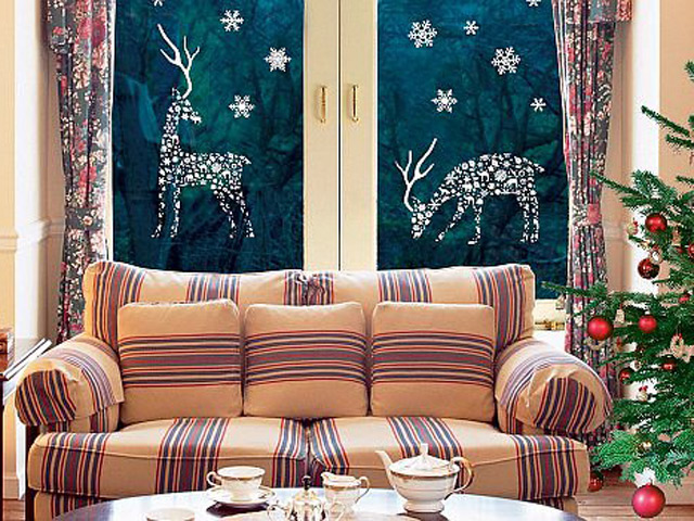 Украшаем окна к новому году..Идеи. wpid MhoFXH1DbdY Украшаем окна к новому году..Идеи.