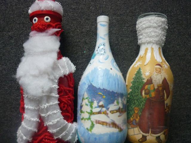 Декоровані пляшки