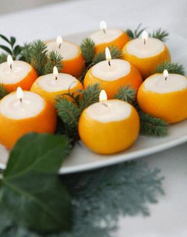 Декоровані свічки