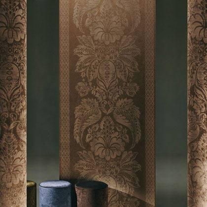 Велюровые обои отличаются декоративностью и богатым внешним видом
