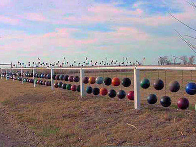 Из шаров для боулинга в штате Оклахома