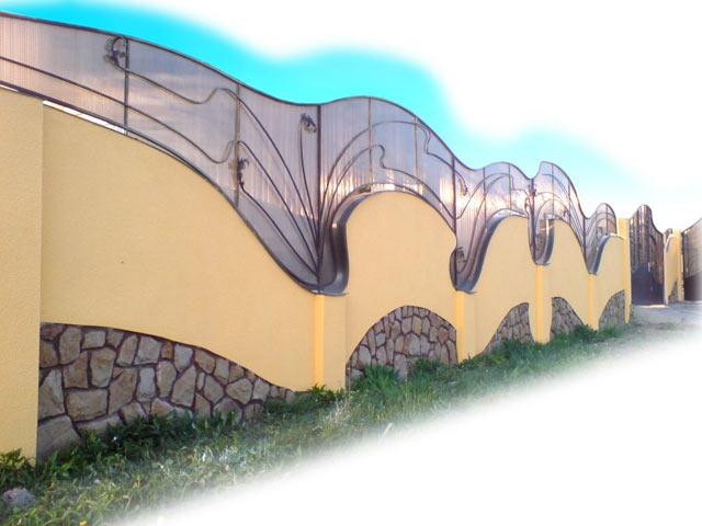 Забор, как произведение искусства