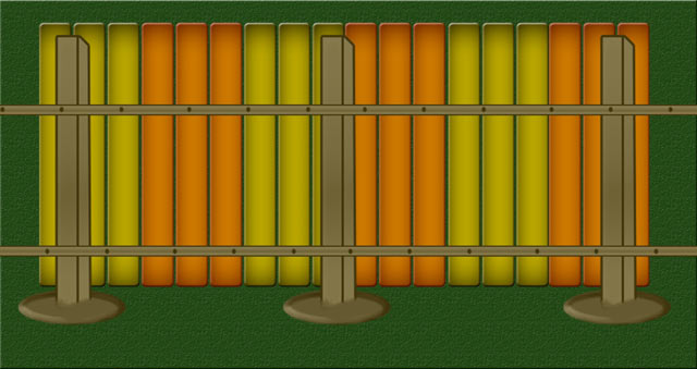 Прибиваем или прикручиваем вертикальные доски