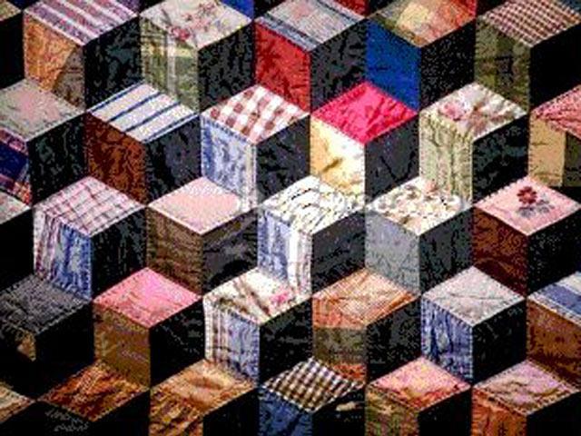 Узор «кубики»