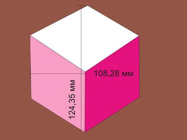 Складываем в куб